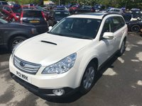 USED 2013 SUBARU OUTBACK 2.0 D SE 5d 150 BHP ESTATE IN PEARLESCENT WHITE WITH 90000 MILES IN GREAT CONDITION APPROVED CARS ARE PLEASED TO OFFER THIS SUBARU OUTBACK 2.0 D SE 5 DOOR 150 BHP ESTATE IN PEARLESCENT WHITE WITH 96000 MILES IN IMMACULATE CONDITION INSIDE AND OUT WITH A FULL LEATHER INTERIOR,ELECTRIC HAND BRAKE,ALLOYS,BLUETOOTH AND MUCH MORE WITH A FULL MAIN SUBARU DEALER SERVICE HISTORY SERVICED AT 8K,17K,35K,47K,59K,71K AND 83K A TRULY NICE EXAMPLE.