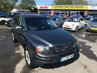 USED 2008 08 VOLVO XC90 2.4 D5 SE 5d AUTO 183 BHP IN METALLIC BLUE WITH SAT NAV AND WITH 82000 MILES IN GREAT CONDITION. APPROVED CARS ARE PLEASED TO OFFER THIS VOLVO XC90 2.4 D5 SE 5d AUTO 183 BHP IN METALLIC BLUE WITH SAT NAV AND WITH 82000 MILES IN GREAT CONDITION INSIDE AND OUT WITH A FULL LEATHER INTERIOR,SAT NAV,7 SEATS,TOW BAR AND MUCH MUCH MORE WITH A FULL SERVICE HISTORY(BILLS AND INVOICES) A GREAT XC90 WITH SENSIBLE MILEAGE AND AT A VERY SENSIBLE PRICE.