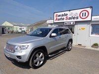 2012 JEEP GRAND CHEROKEE 3.0 V6 CRD OVERLAND 5 DOOR AUTO 237 BHP £14995.00