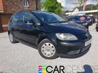 2005 VOLKSWAGEN GOLF PLUS 1.6 S 5d 114 BHP £895.00