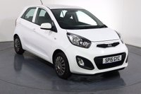 USED 2015 15 KIA PICANTO 1.0 1 5d 68 BHP ONE OWNER with 3 Stamp SERVICE HISTORY