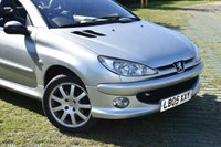 USED 2005 05 PEUGEOT 206 1.6 ALLURE S COUPE CABRIOLET 2d AUTO 108 BHP