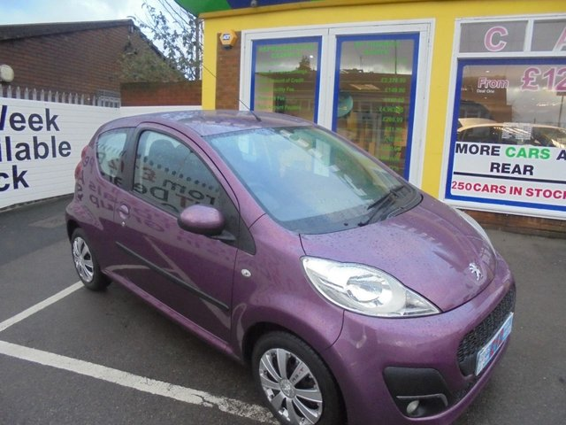 USED 2012 62 PEUGEOT 107 1.0 ACTIVE 3d 68 BHP **IDEAL FIRST CAR**JUST ARRIVED ** 01543 379066