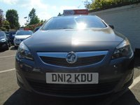 USED 2012 12 VAUXHALL ASTRA 1.4 SRI 5d 98 BHP GUARANTEED TO BEAT ANY 'WE BUY ANY CAR' VALUATION ON YOUR PART EXCHANGE
