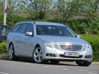 USED 2012 61 MERCEDES-BENZ E CLASS 2.1 E250 CDI BLUEEFFICIENCY SE EDITION 125 5d AUTO 204 BHP