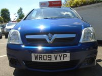 USED 2009 09 VAUXHALL MERIVA 1.6 LIFE AC 16V 5d 100 BHP GUARANTEED TO BEAT ANY 'WE BUY ANY CAR' VALUATION ON YOUR PART EXCHANGE