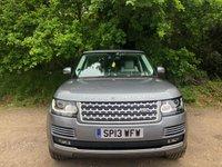 2013 LAND ROVER RANGE ROVER 4.4 SDV8 VOGUE SE 5d AUTO 339 BHP £33495.00