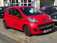 2011 PEUGEOT 107 1.0 URBAN LITE. LOW MILEAGE £2900.00
