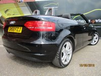 USED 2008 58 AUDI A3 2.0 TDI SPORT 2d AUTOMATIC DIESEL CONVERTIBLE 138 BHP No Deposit Finance & Part Ex Available