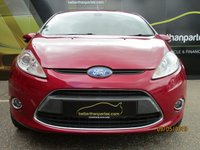 USED 2009 09 FORD FIESTA 1.4 TITANIUM 3d AUTOMATIC 96 BHP 65,000 MILES No Deposit Finance & Part Ex Available