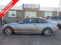 USED 2005 54 BMW 3 SERIES 2.5 325CI SPORT AUTOMATIC SSG 2D 190 BHP