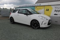 2011 CITROEN DS3 1.6 HDI BLACK AND WHITE 3d 90 BHP WHITE  £3990.00