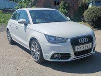 2012 AUDI A1 1.6 SPORTBACK TDI SPORT 5d 103 BHP £6495.00