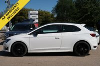 USED 2016 16 SEAT LEON 1.4 ECOTSI FR TECHNOLOGY 3d 150 BHP SATELLITE NAVIGATION + FULL SEAT SERVICE HISTORY