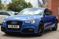 2016 AUDI A5 2.0 TDI BLACK EDITION PLUS 3d 187 BHP £15995.00
