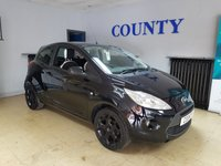 USED 2016 16 FORD KA 1.2 ZETEC BLACK EDITION 3d 69 BHP * ONE OWNER * SERVICE HISTORY *