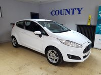 USED 2013 63 FORD FIESTA 1.2 ZETEC 3d 81 BHP * TWO OWNERS * LONG MOT *