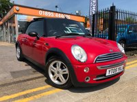 USED 2005 05 MINI CONVERTIBLE 1.6 ONE 2d 89 BHP