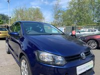 USED 2012 12 VOLKSWAGEN POLO 1.2 MATCH 3d 59 BHP ALLOYS+MEDIA+AUX+USB+REVCAM+