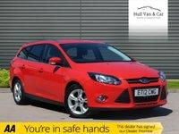 2012 FORD FOCUS 1.6 ZETEC 5d AUTO 124 BHP £6995.00