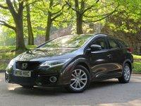 2016 HONDA CIVIC 1.6 I-DTEC SE PLUS NAVI TOURER 5d 118 BHP £9777.00