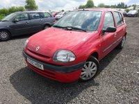 2000 RENAULT CLIO 1.1 GRANDE 5d 59 BHP £395.00