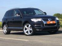 USED 2008 58 VOLKSWAGEN TOUAREG 4.9 V10 ALTITUDE TDI DPF 5d AUTO 309 BHP MEMORY SEATS + HEATED SEATS + RARE CAR + FULL SERVICE HISTORY + SAT NAV