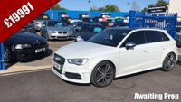 USED 2014 14 AUDI A3 2.0 S3 SPORTBACK QUATTRO 5d AUTO 300 BHP Just Arrived, Awaiting Preparation!