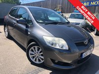 USED 2007 07 TOYOTA AURIS 2.0 T SPIRIT D-4D 5d 125 BHP ONE PREVIOUS OWNER