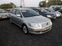USED 2005 55 TOYOTA AVENSIS 2.2 T3 S D-4D 5d 148 BHP