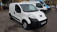 2014 PEUGEOT BIPPER 1.3 HDI S 75 BHP VAN WITH SIDE LOAD DOOR £4995.00