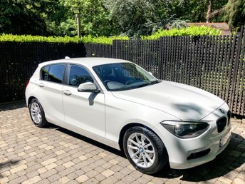 2012 BMW 1 SERIES 1.6 116D EFFICIENTDYNAMICS 5d 114 BHP £7995.00