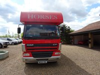 USED 2004 04 DAF TRUCKS CF 0.0 FA CF 65.220 SLP 1d 217 BHP DAF TRUCKS HORSE BOX HOLDS 4 HORSES GREAT CONDITION