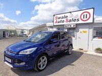 USED 2013 63 FORD KUGA 2.0 TITANIUM X TDCI 5 DOOR 4X4 160 BHP £54 PER WEEK, NO DEPOSIT - SEE FINANCE LINK