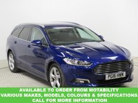 USED 2016 16 FORD MONDEO 2.0 TITANIUM TDCI 5d AUTO 177 BHP This VEHICLE CAN BE ORDERED FROM MOTABILITY