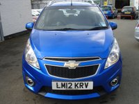 USED 2012 12 CHEVROLET SPARK 1.2 LT 5d 80 BHP