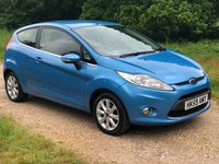 USED 2009 59 FORD FIESTA 1.2 ZETEC 3d 81 BHP Low Mileage, Low Tax, AUX