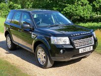 USED 2010 10 LAND ROVER FREELANDER 2.2 TD4 XS 5d AUTO 159 BHP F/L/S/H, Leather, Low Mileage