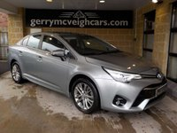 USED 2018 67 TOYOTA AVENSIS 1.6 D-4D BUSINESS EDITION 4d 110 BHP 67.3 mpg  5yr Toyota Warranty to 01/02/2023