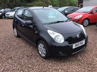 USED 2011 11 SUZUKI ALTO 1.0 SZ4 5d 68 BHP EXCEPTIONALLY LOW MILEAGE,WITH SERVICE HISTORY