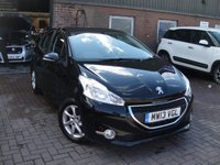 USED 2013 13 PEUGEOT 208 1.2 ACTIVE 5d 82 BHP ANY PART EXCHANGE WELCOME, COUNTRY WIDE DELIVERY ARRANGED, HUGE SPEC