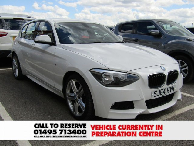 View our 2015 64 BMW 1 SERIES 2.0 116D M SPORT 5d 114 BHP