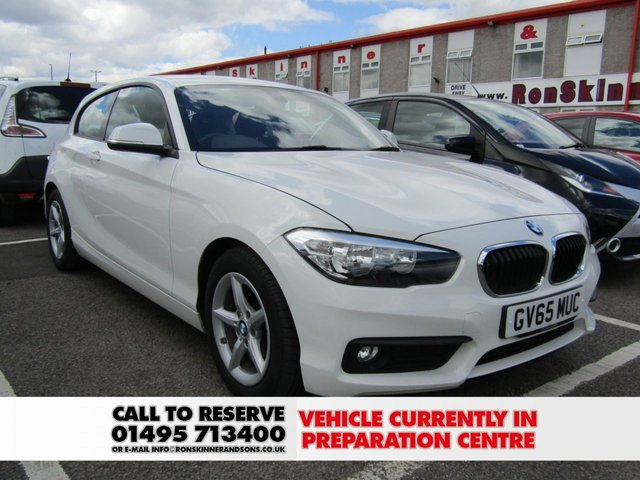 View our 2016 65 BMW 1 SERIES 1.5 116D ED PLUS 3d 114 BHP