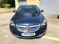 USED 2014 14 VAUXHALL INSIGNIA 2.0 SRI NAV CDTI ECOFLEX S/S 5d FREE TAX, 5 SERVICES, SAT NAV,  ONLY 1 FORMER KEEPER, 5 SERVICES, 2 KEYS, FREE TAX