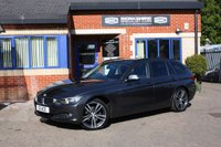 "USED 2013 D BMW 3 SERIES 2.0 320D XDRIVE SE TOURING 5d AUTO 181 BHP 19"" Alloys, Leather, Navigation, Heated seats, Power tailgate, Full service history!"