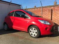 USED 2012 62 FORD KA 1.2 STUDIO 3d NEEDS A LITTLE BIT OF LOVE, HENCE THE PRICE PART EXCHANGE TO CLEAR