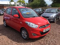 USED 2012 12 HYUNDAI I10 1.2 ACTIVE 5d 85 BHP EXCEPTIONALLY LOW MILEAGE,WITH SERVICE HISTORY