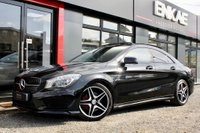 USED 2013 13 MERCEDES-BENZ CLA 2.1 CLA220 CDI AMG SPORT 4d 170 BHP PANORAMIC ROOF*HARMAN KARDON SOUND*LOADED*FOLDING MIRRORS*PRIVACY GLASS*RED CALIPERS*