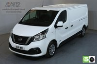 USED 2018 18 NISSAN NV300 1.6 DCI ACENTA L2 H1 LWB 120 BHP AIR CON EURO 6 MANUFACTURER WARRANTY UNTIL 30/03/2021