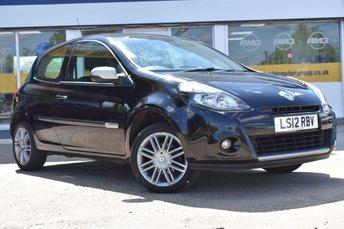 2012 RENAULT CLIO 1.1 DYNAMIQUE TOMTOM 16V 3d 75 BHP £4299.00